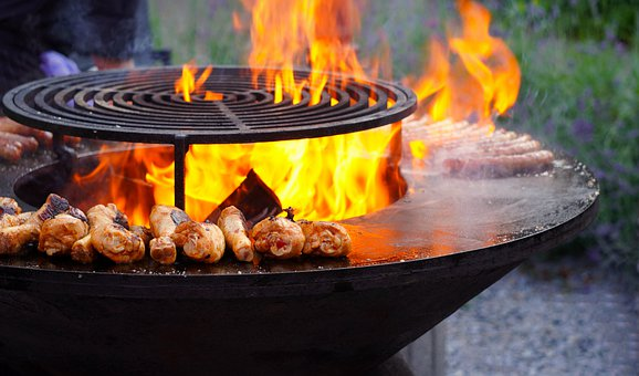 BBQ-Hot-Cooking-Flame