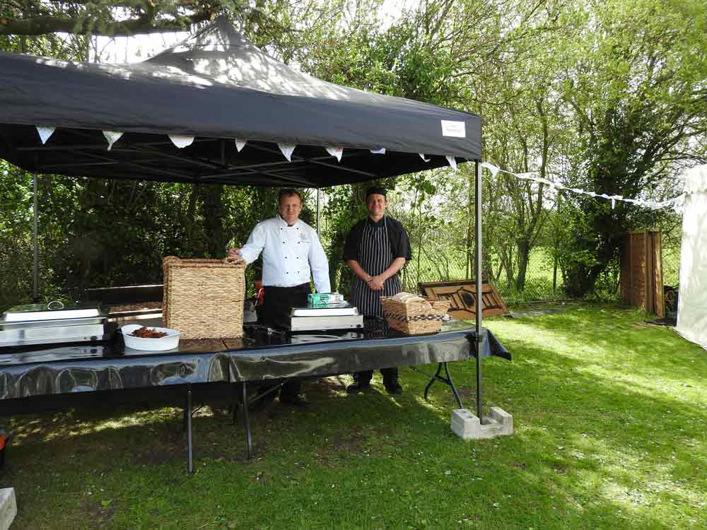 hog roast catering pig
